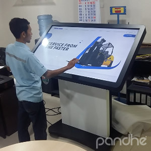 kiosk touch screen h-touch