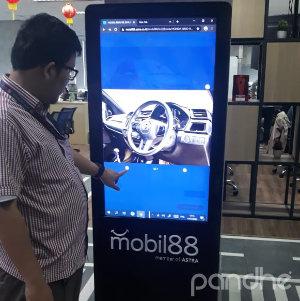 kiosk touch screen mobil88