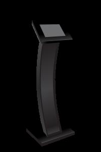 standing enclosure tablet curve